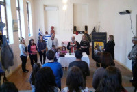 Πραγματοποιήθηκε ο αγιασμός των Χορευτικών Τμημάτων του Πολιτιστικού Συλλόγου Καπνοχωρίου
