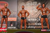 Ο Λεωνίδας Τρίγκας Βασιλείου από την Κοζάνη στην 3η θέση του Μεσογειακού Πρωταθλήματος Natural Bodybuilding – Δείτε φωτογραφίες