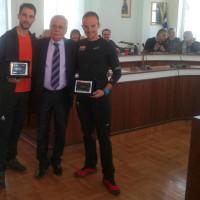 Βράβευση Σιατιστινών αθλητών για τις σημαντικές διακρίσεις τους από τον Δήμαρχο Βοΐου