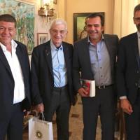 """Στην Κύπρο ο Δήμαρχος Κοζάνης για συνάντηση στο πλαίσιο του Ευρωπαϊκού ομίλου εδαφικής συνεργασίας """"Έλικας"""""""