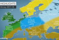 Χειμώνας 2017-2018 στην Ελλάδα: Ποια είναι η πρόβλεψη των Αμερικάνων μετεωρολόγων για το φετινό χειμώνα;