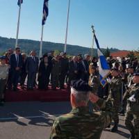Στην τελετή ορκωμοσίας Νεοσύλλεκτων Οπλιτών στα Γρεβενά ο βουλευτής του ΣΥΡΙΖΑ Κοζάνης Γ. Ντζιμάνης