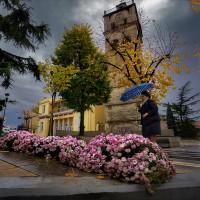 Η φωτογραφία της ημέρας: Φθινοπωρινό σκηνικό στο κέντρο της Κοζάνης