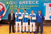 3 στα 3 για τους αθλητές της Μακεδονικής Δύναμης Κοζάνης στο Διεθνές Πρωτάθλημα G1 του Taekwondo