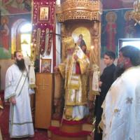 Αρχιερατική Θεία Λειτουργία τελέστηκε στον πανηγυρίζοντα Ι.Ν. του Αγίου Γεωργίου Μεσιανής