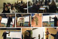 Με επιτυχία το σεμινάριο και η παράσταση θεάτρου σκιών από τον Γιάννη Χατζή στην Πτολεμαΐδα