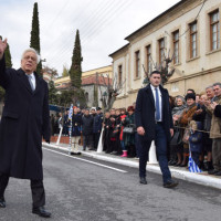 Ο Πρόεδρος της Δημοκρατίας Π. Παυλόπουλος στον εορτασμό της απελευθέρωσης της Σιάτιστας – Δείτε το βίντεο και το φωτορεπορτάζ του KOZANILIFE.GR