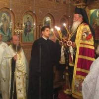 Με Αρχιερατικό Εσπερινό ξεκίνησε η ιερή πανήγυρη στο Βαθύλακκο για τους Ταξιάρχες Μιχαήλ και Γαβριήλ