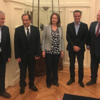 Σε σύσκεψη στο Υπουργείο Εξωτερικών ο Θ. Καρυπίδης για το άνοιγμα του μεθοριακού σταθμού του Λαιμού Πρεσπών