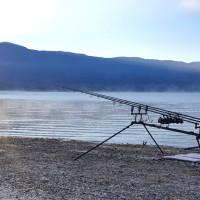 Η φωτογραφία της ημέρας: Ανατολή του ηλίου στη λίμνη Πολυφύτου