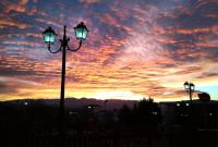 Ανατολή του ηλίου το πρωί της Παρασκευής 15 Δεκεμβρίου στην Κοζάνη – Δείτε τις όμορφες φωτογραφίες