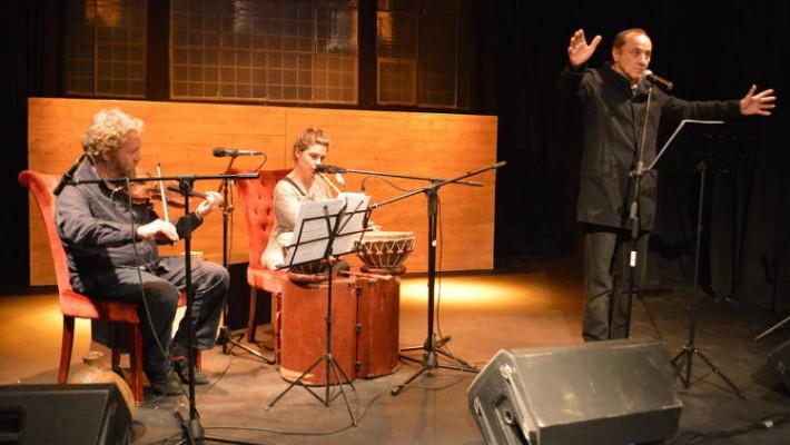 Κοζάνη: Ο Στέλιος Μάινας συναντά τον Αλέξανδρο Παπαδιαμάντη και διαβάζει μερικά από τα αριστουργηματικά του διηγήματα