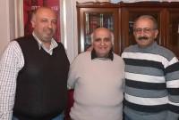Εθιμοτυπική επίσκεψη του ευπατρίδη Ελευθερίου Γρηγοριάδη στο Δήμαρχο Εορδαίας
