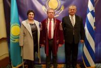 Συμμετοχή του βουλευτή του ΣΥΡΙΖΑ Κοζάνης Γ. Ντζιμάνη στην εκδήλωση για τον Εορτασμό των 26 χρόνων Ανεξαρτησίας του Καζακστάν