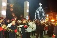 Η φωταγώγηση του χριστουγεννιάτικου δέντρου και Λευκή Νύχτα στην Πτολεμαΐδα