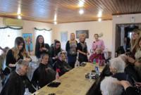 Επίσκεψη του τμήματος «Τεχνικός Κομμωτικής Τέχνης» του ΔΙΕΚ στο Γηροκομείο Κοζάνης