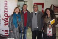 Στην Πτολεμαΐδα ο συγγραφέας και Πρόεδρος του Ε.Σ. της Εθνικής Βιβλιοθήκης της Ελλάδος, Σταύρος Ζουμπουλάκης