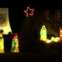 Έναρξη εορτών Χριστουγέννων στη Νεράιδα Κοζάνης με το άναμμα της φάτνης – Δείτε το βίντεο