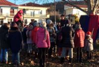 Όμορφη Χριστουγεννιάτικη εκδήλωση στο Δρέπανο Κοζάνης – Δείτε το βίντεο