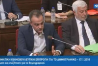 Παρέμβαση του Θ. Καρυπίδη στη Διακομματική Κοινοβουλευτική Επιτροπή για το Δημογραφικό – Δείτε το βίντεο