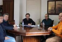 Συνάντηση στελεχών της Δ.Ε.Υ.Α.Κ. με τον Πρύτανη του ΤΕΙ Δυτικής Μακεδονίας για το ενδεχόμενο σύνδεσης του ΤΕΙ με την τηλεθέρμανση