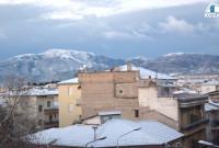 Στα λευκά ξύπνησε η Κοζάνη – Χωρίς προβλήματα από τη χιονόπτωση η πόλη – Που χρειάζονται αλυσίδες