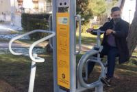 Ο Δήμαρχος Κοζάνης εν ώρα… γυμναστικής στο Δημοτικό Πάρκο Κοζάνης – Δείτε φωτογραφίες