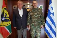Συνάντηση του βουλευτή του ΣΥΡΙΖΑ Κοζάνης Γ. Ντζιμάνη με τον Αρχηγό του Γενικού Επιτελείου Στρατού