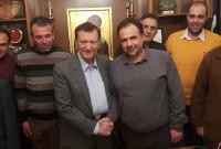 Επίσκεψη στον Πρόεδρο και τη Δ.Ε του Επιμελητηρίου Κοζάνης από μέλη του Σωματείου Συνταξιούχων ΟΑΕΕ