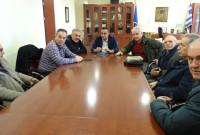 Το συντονιστικό των συνταξιούχων επισκέφθηκε τον Περιφερειάρχη – Στο επίκεντρο της συνάντησης το Κέντρο Ημερήσιας Φροντίδας ατόμων με τη νόσο Αλτσχάϊμερ