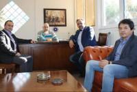 Επίσκεψη της διοίκησης Ε.Β.Ε. Κοζάνης στον πρύτανη του ΤΕΙ Δυτικής Μακεδονίας