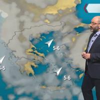 Αλκυονίδες… τέλος; Επιδείνωση του καιρού και αστάθεια σε όλη τη χώρα από τις επόμενες ημέρες – Η πρόγνωση του Σάκη Αρναούτογλου