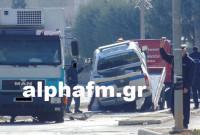 Φορτηγό τράκαρε με περιπολικό στη Μεσοποταμία Καστοριάς – Στο νοσοκομείο ο αστυνομικός – Δείτε φωτογραφίες