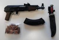Πιάστηκε στο σπίτι του στην Κοζάνη με καλάσνικοφ, σφαίρες και μαχαίρι – Δύο συλλήψεις την Κυριακή – Δείτε φωτογραφία