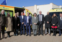 Χορηγία 20 ασθενοφόρων στο ΕΚΑΒ από τον ΤΑΡ – Και ο Θ. Καρυπίδης στη σχετική εκδήλωση στην Θεσσαλονίκη