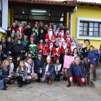 Κουδουνάδες και Ρουγκατσάρια στη Γαλατινή – Δείτε το βίντεο