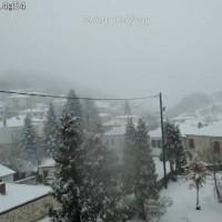Στα λευκά τα ορεινά της Κοζάνης το πρωί του Σαββάτου – Δείτε φωτογραφίες