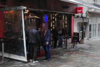 Κάπνισμα εκτός καταστημάτων στην Κοζάνη με τους ελέγχους της Δημοτικής Αστυνομίας – Δείτε φωτογραφίες