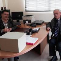 Συνάντηση του Δημάρχου Βοΐου με τον Διευθυντή Κτηνιατρικής Υπηρεσίας για την διαχείριση των αδέσποτων ζώων
