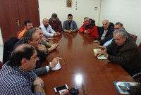 Οι εκπρόσωποι των παραγωγών και πωλητών των Λαϊκών Αγορών επισκέφθηκαν τον Περιφερειάρχη Θ. Καρυπίδη