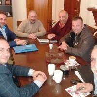 Συνάντηση του Δημάρχου Εορδαίας με το νέο προεδρείο του Επιμελητηρίου Κοζάνης