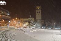 Στα λευκά η Κοζάνη – Δε σταμάτησε η χιονόπτωση από το μεσημέρι της Κυριακής – Δείτε βίντεο και φωτογραφίες