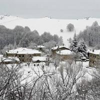 Πανέμορφο λευκό σκηνικό στο Νυμφαίο Φλώρινας – Δείτε φωτογραφίες