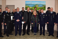 Δωρεά εξοπλισμού για τις ανάγκες των Ομάδων ΔΙ.ΑΣ. της Αστυνομίας Καστοριάς από την εταιρεία «ACTIVE S.A.»