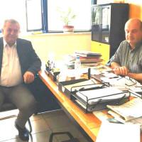 Συνάντηση του Γ. Ντζιμάνη με τον Πρόεδρο του ΕΛΓΑ για τις αποζημιώσεις σε Βελβεντό και Μεσόβουνο