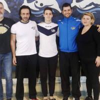 Συμμετοχή του αθλητή Θεόδωρου Ανδρεόπουλου της ομάδας «Δελφίνια» Πτολεμαΐδας σε αποστολή της Εθνικής