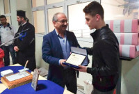 Με τιμή στον αθλητή Θεόδωρο Ανδρεόπουλο η κοπή της πίτας της ομάδας κολύμβησης «Δελφίνια» Πτολεμαΐδας