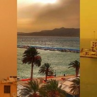 Άγιος Νικόλαος, Ιεράπετρα και Σητεία καλύφθηκαν από αφρικανική σκόνη – Δείτε εντυπωσιακές εικόνες