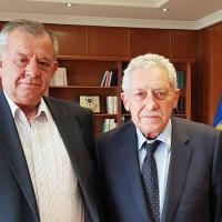 Συνάντηση του βουλευτή του ΣΥΡΙΖΑ Κοζάνης Γ. Ντζιμάνη με τον Αναπληρωτή Υπουργό Εθνικής Άμυνας Φώτη Κουβέλη