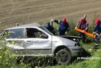 Νέο τροχαίο δυστύχημα στην Εγνατία Οδό: Νεκρός 30χρονος οδηγός στον ΣΕΑ Πλατάνου Ημαθίας – Δείτε βίντεο και φωτογραφίες